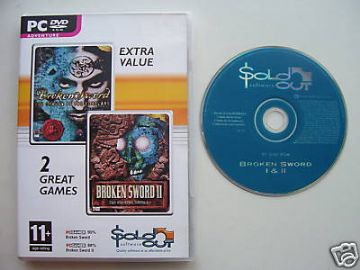 Broken Sword  1 & 2  PC Game